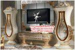 Bufet Tv Pajangan Ukiran Mewah