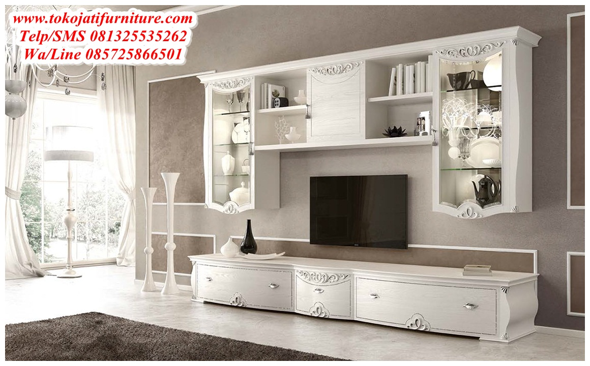 Bufet-tv-Minimalis-Duco-Modern Bufet tv Minimalis Duco Modern