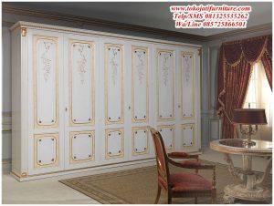 Lemari Pakaian 6 Pintu Karakter Lukisan