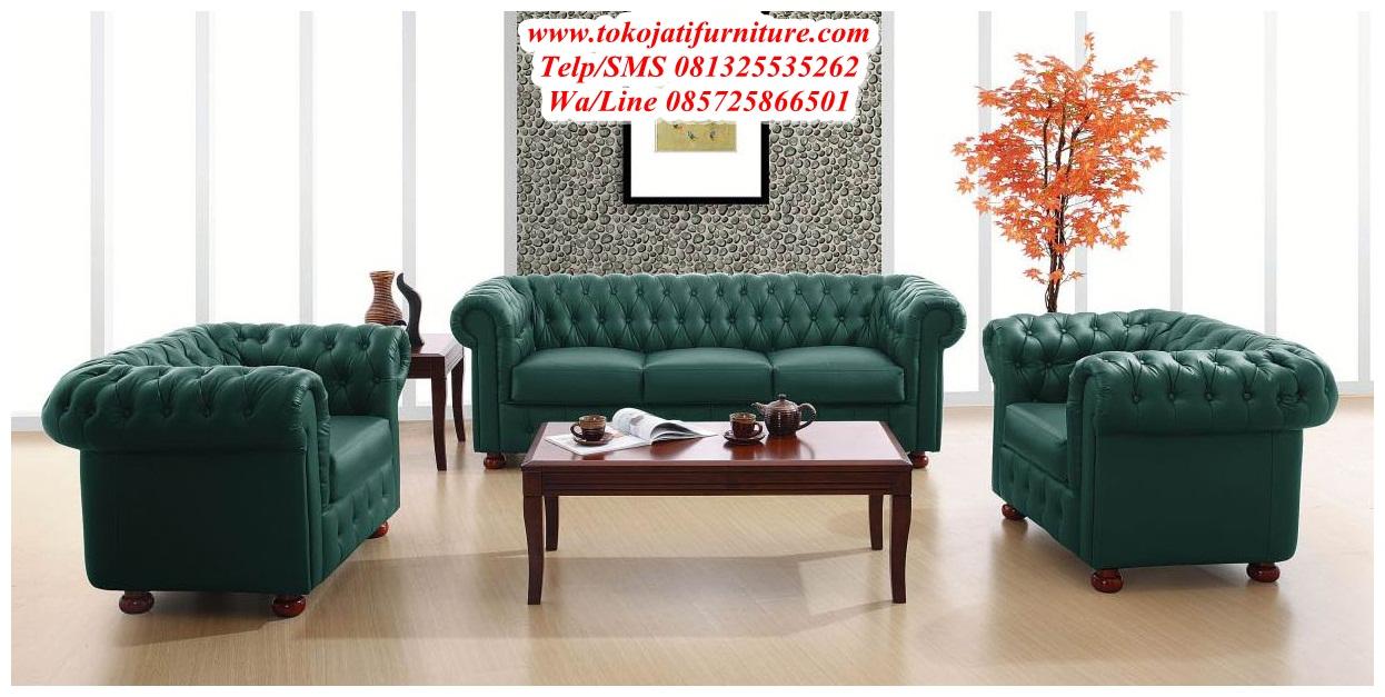Sofa-Tamu-Jati-Mewah-Modern Sofa Tamu Jati Mewah Modern
