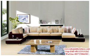 sofa tamu sudut ruang minimalis