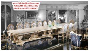 Meja Makan Rococo Modern