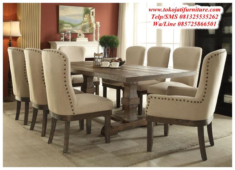 kursi-meja-makan-jati-mewah kursi meja makan jati mewah
