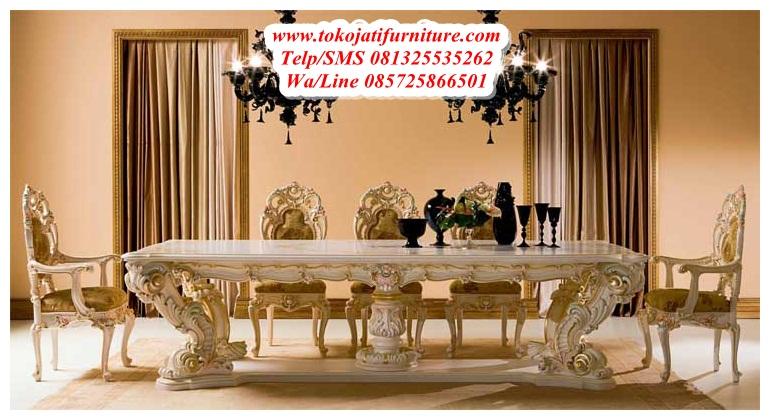 Meja Makan Minerva Classic Www Tokojatifurniture Com Best Store