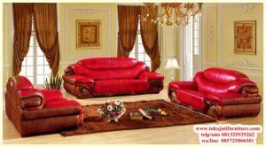 sofa tamu jati minimalis terbaru