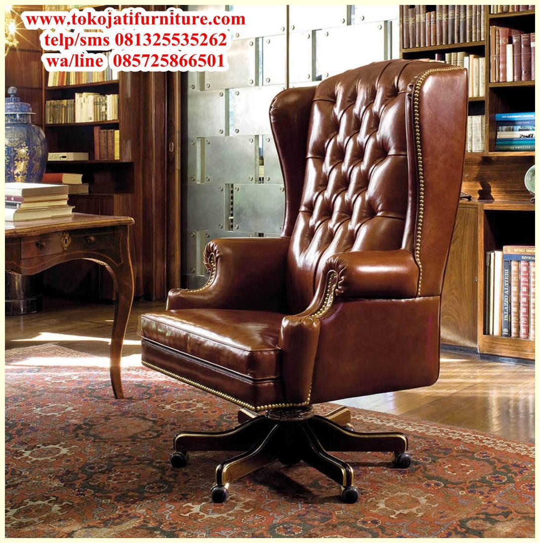 kursi-kantor-jati-pimpinan-direktur-mewah kursi kantor jati pimpinan direktur mewah