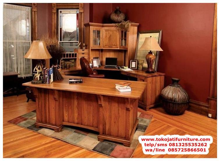 meja-kantor-jati-klasik-terbaru meja kantor jati klasik terbaru
