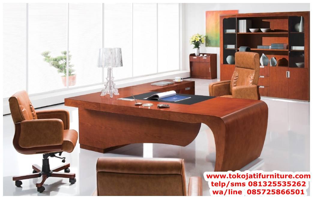 meja-kantor-jati-minimalis-terbaru meja kantor jati minimalis terbaru