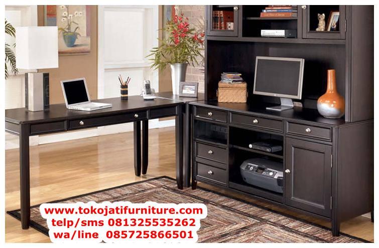 meja-kantor-jati-model-lemari-hias meja kantor jati model lemari hias