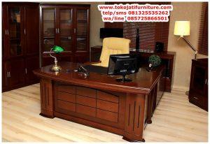meja kantor jati untuk pimpinan
