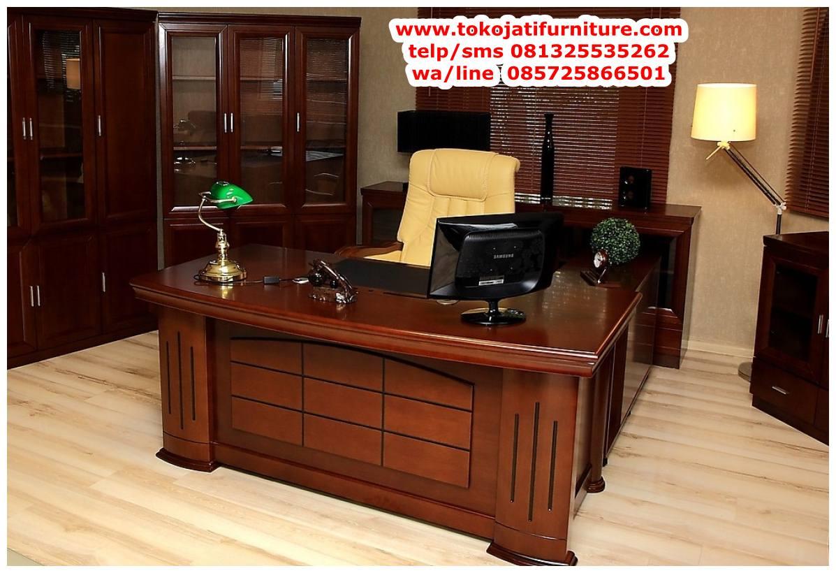 meja-kantor-jati-untuk-pimpinan meja kantor jati untuk pimpinan