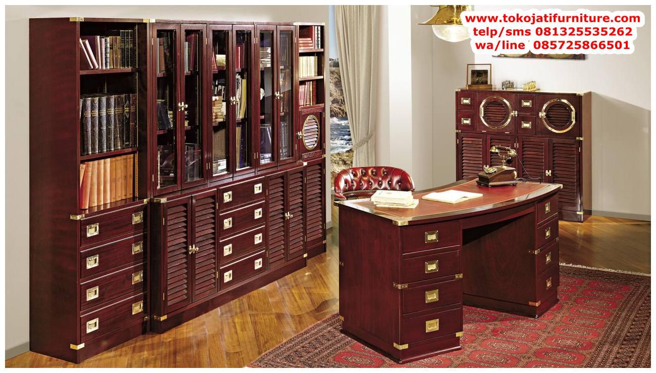 meja-kerja-kantor-jati meja kerja kantor jati