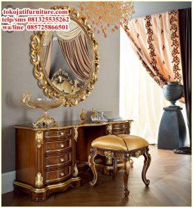 meja rias luxury ukiran terbaru