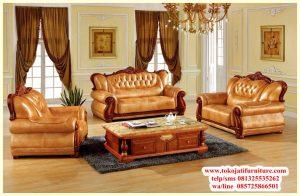 sofa tamu jati desain jepara