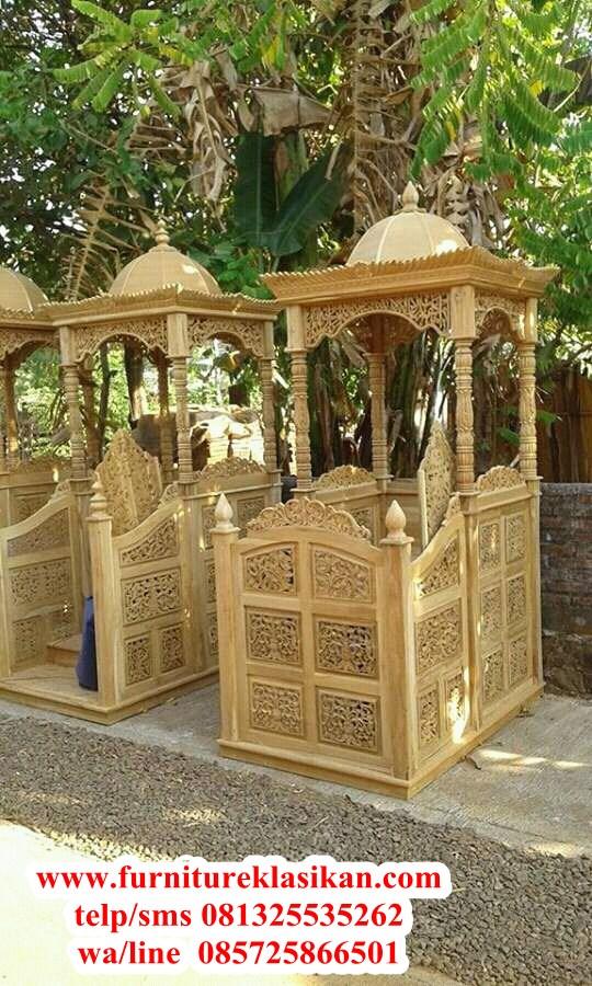 mimbar-masjid-jati-ukiran-terbaru mimbar masjid jati ukiran terbaru