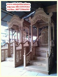Mimbar Jati Masjid Bagong