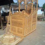 Mimbar Jati Masjid Ukir Jepara