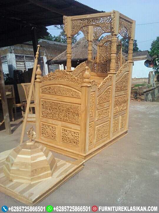Mimbar-Jati-Masjid-Ukir-Jepara Mimbar Jati Masjid Ukir Jepara
