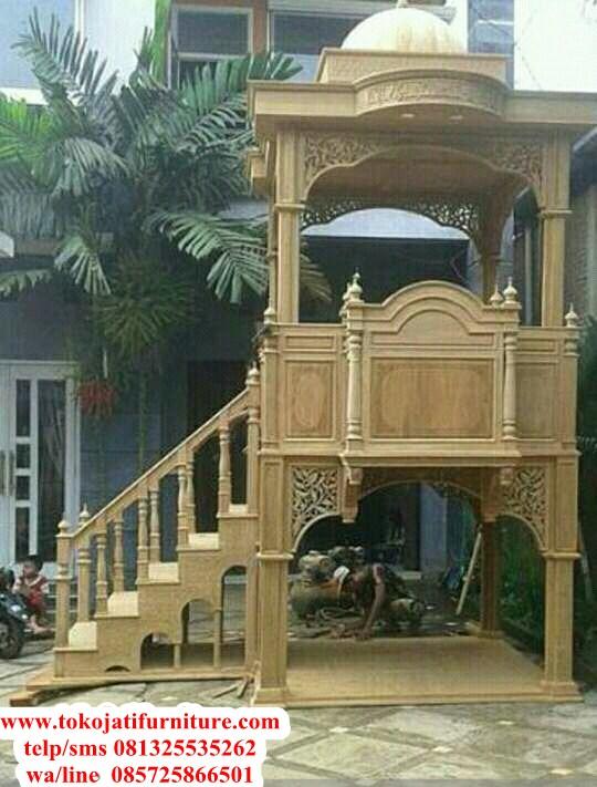 Mimbar-Jati-Masjid-Terbaru-Jepara Mimbar-Jati-Masjid-Terbaru-Jepara