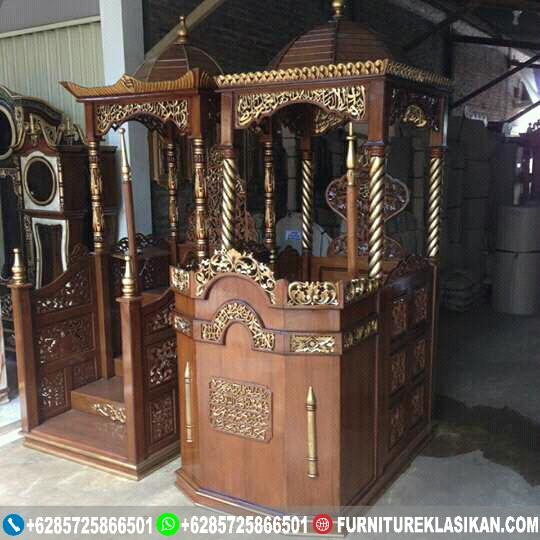 Mimbar-Masjid-Jati-Jepara Mimbar Masjid Jati Jepara