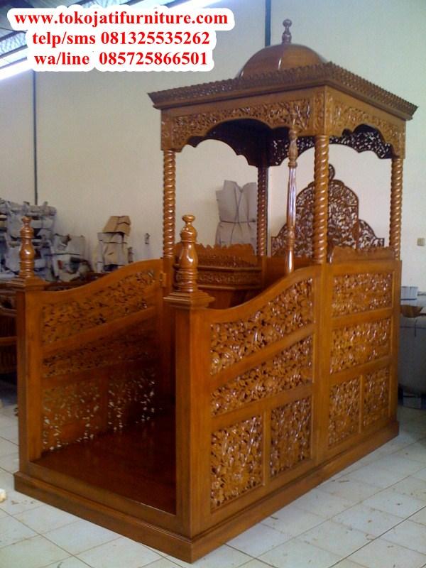 Mimbar-Masjid-Ukiran-islam- Mimbar-Masjid-Ukiran-islam-