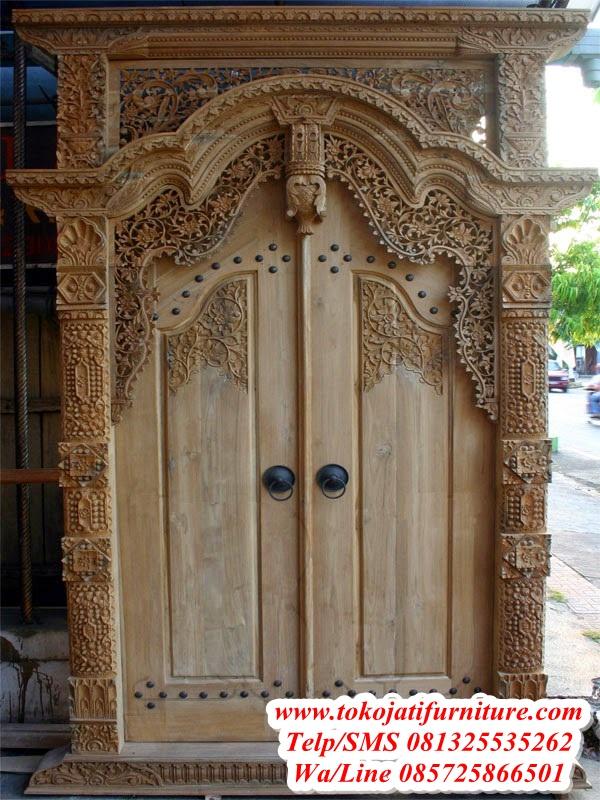 Pintu-Jati-Gebyok-Ukiran-Jepara Pintu-Jati-Gebyok-Ukiran-Jepara