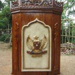 Podium Mimbar Jati Garuda