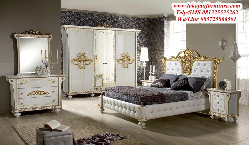 set-tempat-tidur-ukir-mewah-modern set tempat tidur ukir mewah modern