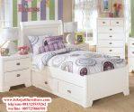 tempat tidur anak duco putih
