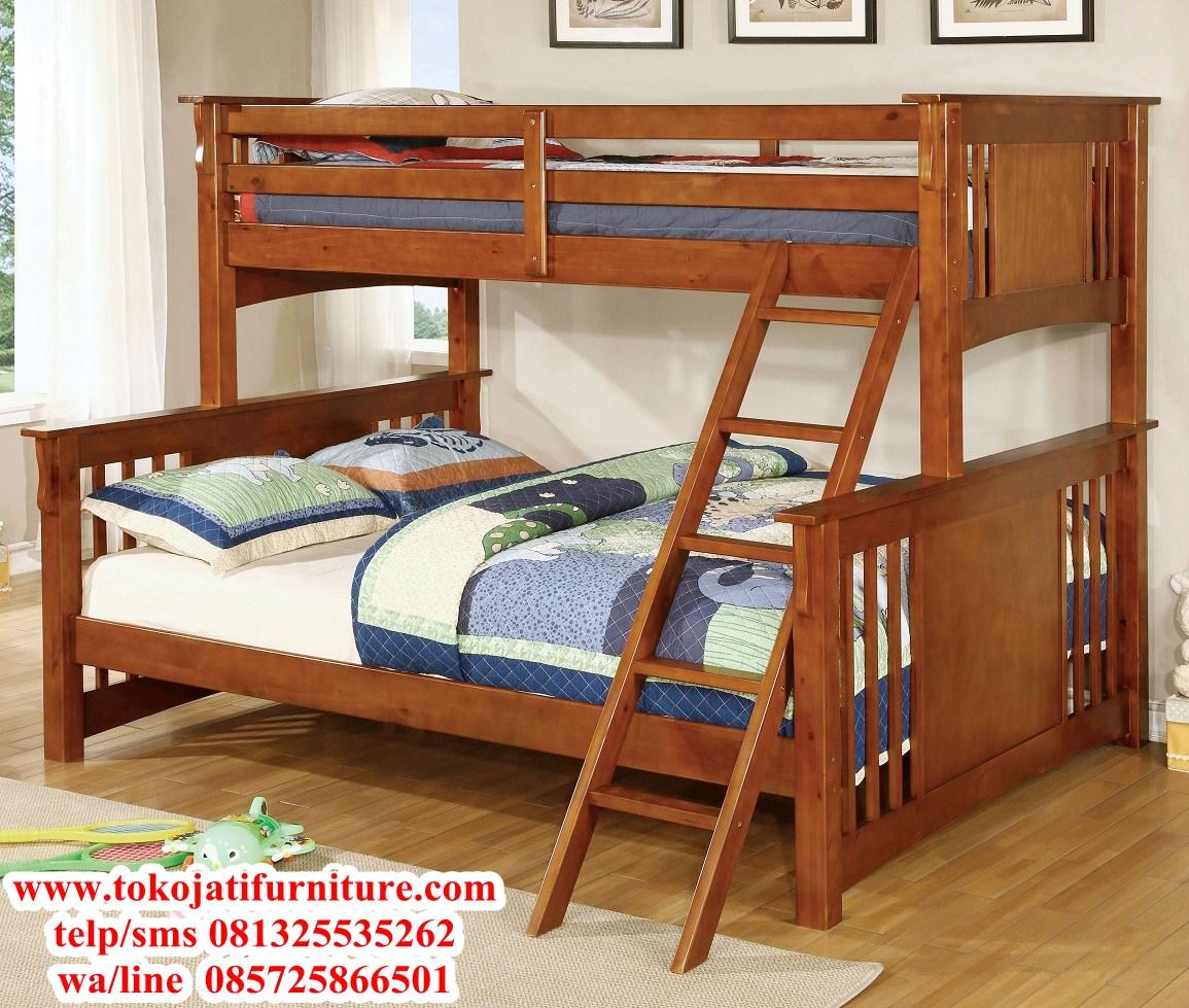 tempat-tidur-anak-tingkat-jati tempat tidur anak tingkat jati