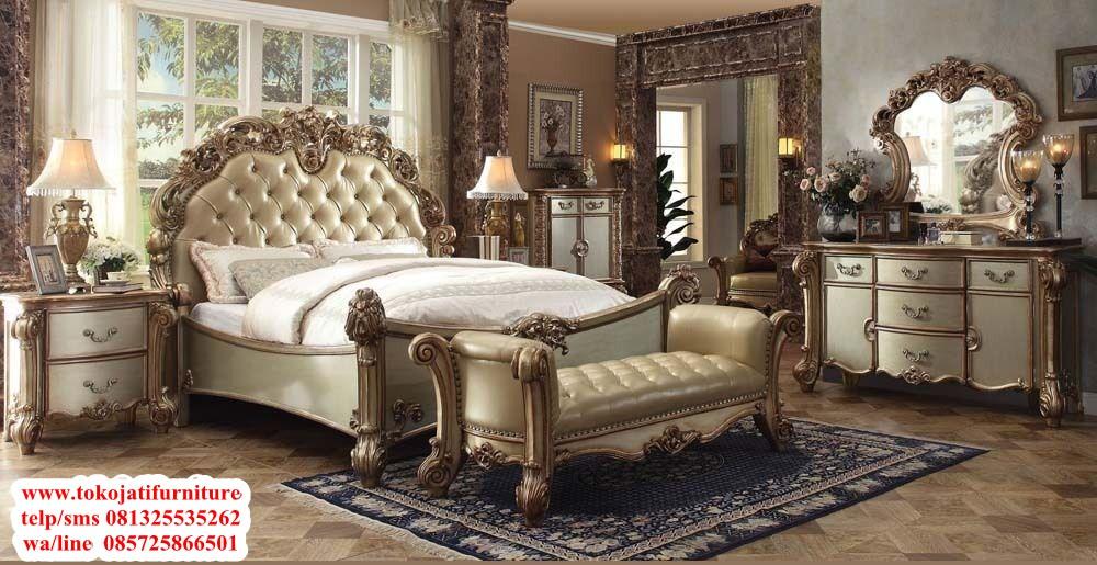 tempat-tidur-jati-ukiran-classic tempat tidur jati ukiran classic