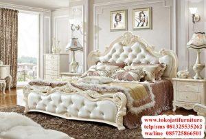 tempat tidur ukir duco modern