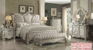 tempat tidur ukiran duco
