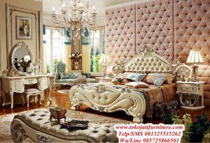tempat tidur ukiran luxury modern