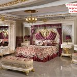 set kamar tidur ukiran modern