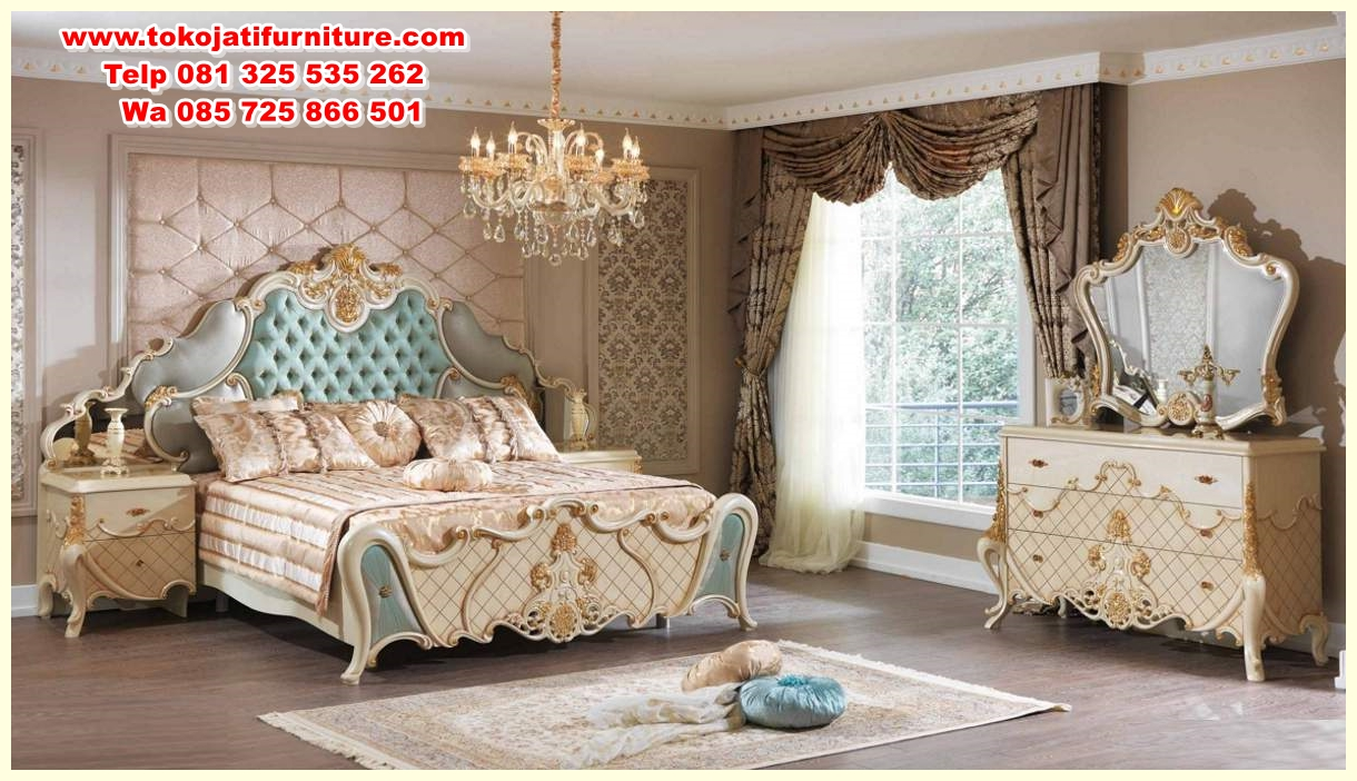 asalet-klasik-yatak-odasi-114990-12-B set tempat tidur classic jepara modern