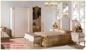 set tempat tidur Jepara Modern