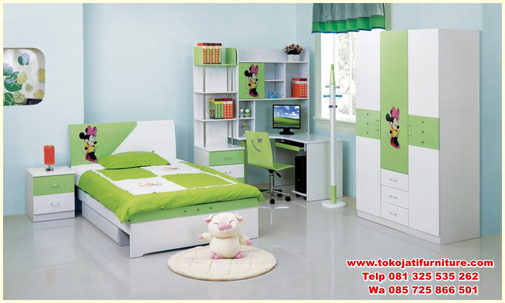 childs-bedroom-furniture-set-best-bedroom-ideas-2017 set tempat tidur anak modern karakter