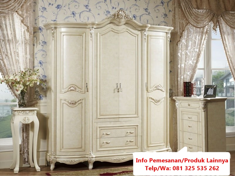 french-provincial-bedroom-furniture-for-salefrench-provincial-white-home-furniture-bedroom-set-066724-bed-4frfi64w lemari pakaian classic 4 pintu modern