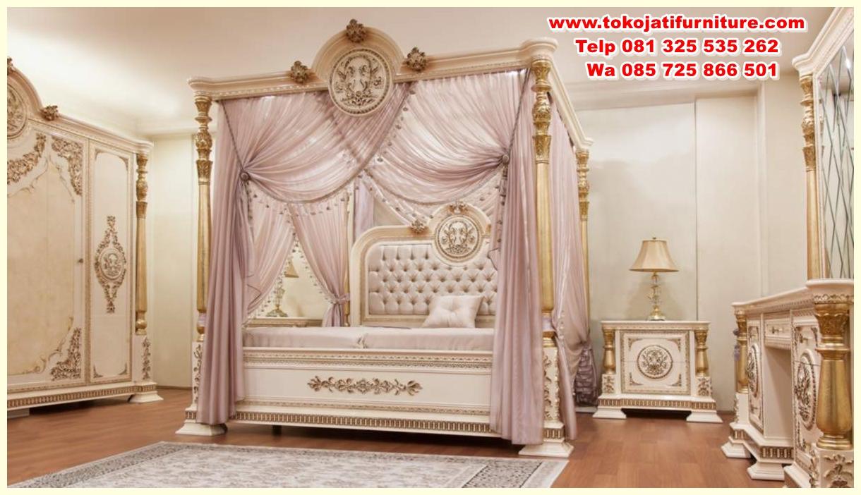 kavesa-klasik-yatak-odasi-126711-21-B set tempat tidur ukiran jepara kanopi