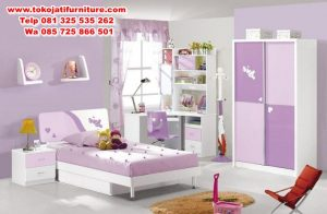 set kamar tidur anak modern terbaru