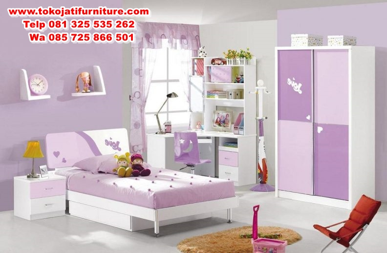 kids-bedroom-furniture-nz-beside-cupboard-near-study-room-multiple-drawers-underneath-wooden-bar-stool-wooden-bed-frame-in-small-shape-ing-wardrobe-792x518 set kamar tidur anak modern terbaru