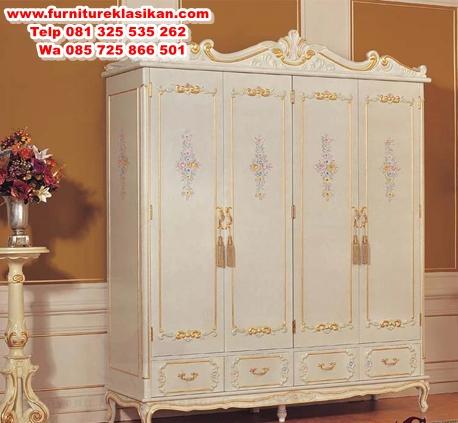 lemari-pakaian-pintu-4-klasik-modern lemari pakaian pintu 4 klasik modern