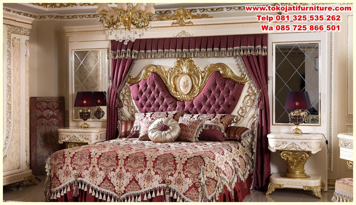 safir-klasik-yatak-odasi-116779-20-B set tempat tidur jati ukiran klasik