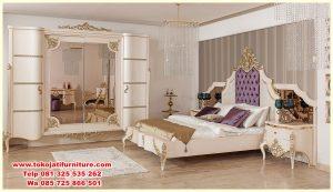 set tempat tidur ukir classic modern