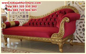 sofa malas lounger ukiran modern