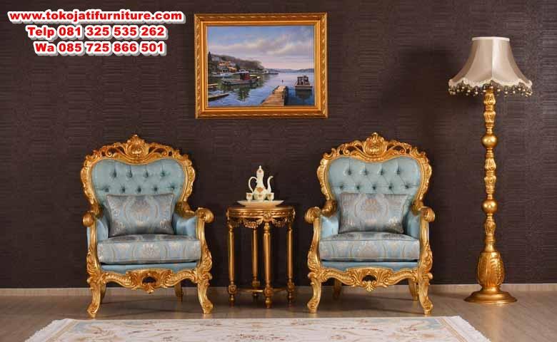 Kral_klasik_koltuk kursi teras classic gold