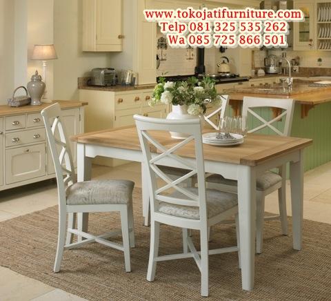 desain-model-meja-makan-shabby-chic-furniture-jepara-goods meja makan kafe minimalis duco