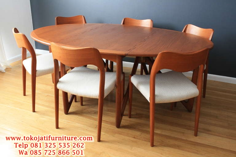 interesting-design-danish-modern-dining-table-amazing-chic-danish-danish-modern-dining-set desain kursi meja kafe jati