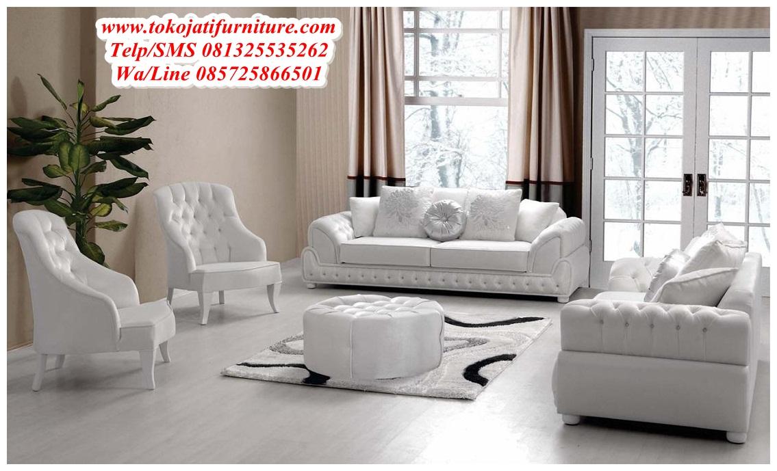 Sofa Ruang Tamu Modern Jepara